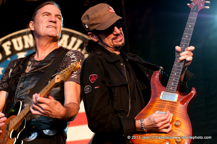 Max Carl & Bruce Kulick of Grand Funk Railroad