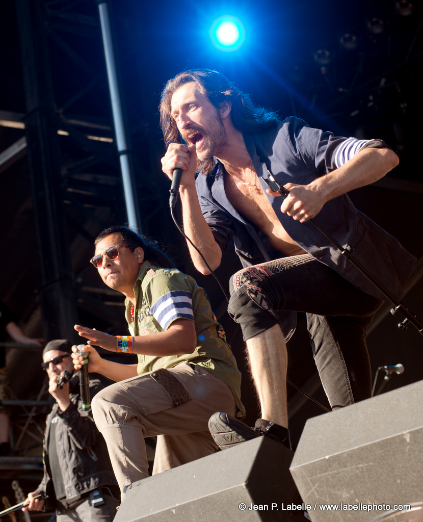 Gogol Bordello performing at RBC Bluesfest in Ottawa on Thursday July 10, 2014