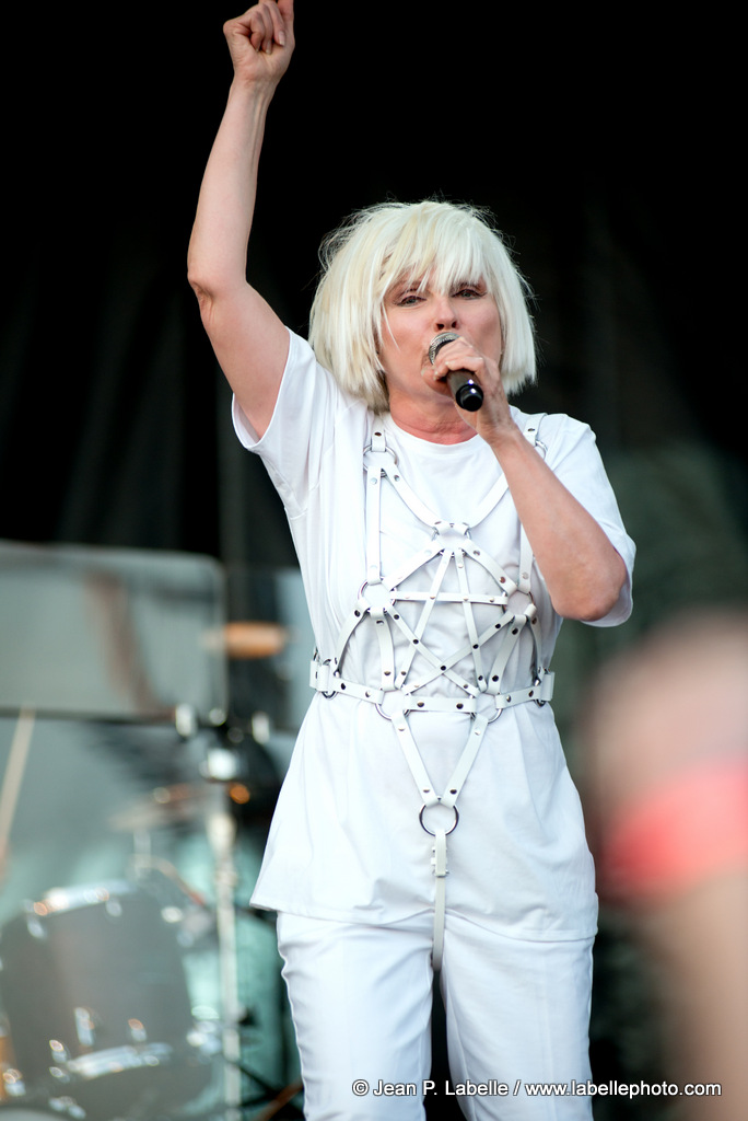Debbie Harry performing with Blondie at RBC Bluesfest in Ottawa on Thursday July 10, 2014