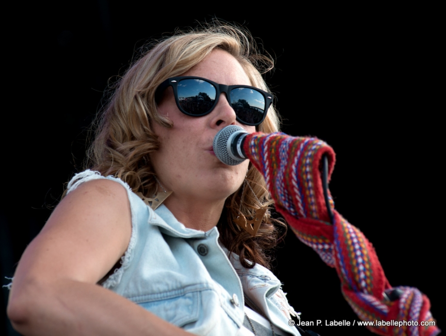 Amanda Rheaume plays at RBC Royal Bank Bluesfest on July 11, 2014