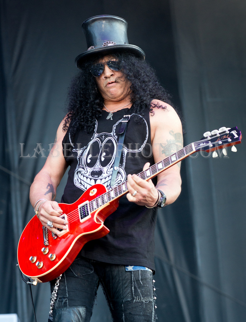 Slash featuring Myles Kennedy and The Conspirators rock RBC Royal Bank Bluesfest on July 11, 2014